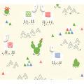 AS Création Vliestapete Boys & Girls 6 Tapete mit Lamas beige creme 10,05 m x 0,53 m