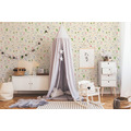 AS Création Vliestapete Boys & Girls 6 Tapete mit Lamas beige creme 369851 10,05 m x 0,53 m