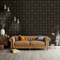 AS Création Vliestapete Ethnic Origin Tapete geometrisch grafisch metallic schwarz 371724 10,05 m x 0,53 m