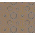 AS Création Vliestapete Ethnic Origin Tapete geometrisch grafisch orange blau braun 371773 10,05 m x 0,53 m