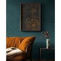 AS Création Vliestapete Ethnic Origin Tapete in Vintage Optik metallic blau 10,05 m x 0,53 m