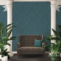AS Création Vliestapete Exotic Life Tapete mit Blättern floral blau 364974 10,05 m x 0,53 m