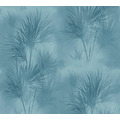 AS Création Vliestapete Exotic Life Tapete mit Palmenblättern blau 372754 10,05 m x 0,53 m