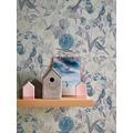 AS Création Vliestapete Exotic Life Tapete tropisch floral natürlich blau gelb grau 372763