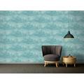 AS Création Vliestapete Exotic Life Tapete Uni blau 372784 10,05 m x 0,53 m