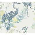 AS Création Vliestapete Four Seasons Tapete blau gelb rosa 360921