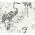 AS Création Vliestapete Four Seasons Tapete grau gelb schwarz 360923 10,05 m x 0,53 m