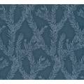 AS Création Vliestapete Four Seasons Tapete metallic blau 358985 10,05 m x 0,53 m