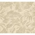 AS Création Vliestapete Greenery Tapete mit Blätter Motiv beige metallic creme 372191 10,05 m x 0,53 m