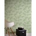AS Création Vliestapete Greenery Tapete mit Palmenprint in Dschungel Optik grün 373353 10,05 m x 0,53 m