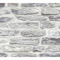 AS Création Vliestapete Il Decoro Tapete in Naturstein Optik grau metallic 364782 10,05 m x 0,53 m