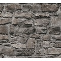 AS Création Vliestapete Il Decoro Tapete in Naturstein Optik schwarz 363704 10,05 m x 0,53 m