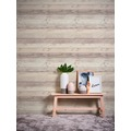 AS Création Vliestapete Il Decoro Tapete in Vintage Holz Optik beige grau weiß 10,05 m x 0,53 m