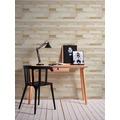 AS Création Vliestapete Il Decoro Tapete in Vintage Holz Optik braun creme grau 10,05 m x 0,53 m