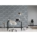 AS Création Vliestapete Il Decoro Tapete mit fotorealistischen Zahnrädern grau metallic schwarz 358591 10,05 m x 0,53 m