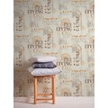 AS Création Vliestapete Il Decoro Tapete New York City metallic beige braun 368123 10,05 m x 0,53 m