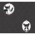 AS Création Vliestapete Little Stars Ökotapete PVC-frei schwarz lila 358512 10,05 m x 0,53 m