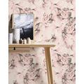 AS Création Vliestapete Neue Bude 2.0 Edition 2 Romantic Flowery creme rosa 373982 10,05 m x 0,53 m