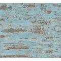 AS Création Vliestapete Neue Bude 2.0 Edition 2 Stones & Structure blau grün orange 374153 10,05 m x 0,53 m