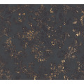 AS Création Vliestapete Neue Bude 2.0 Edition 2 Used Glam barock schwarz metallic 374132 10,05 m x 0,53 m