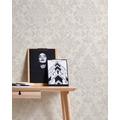AS Création Vliestapete Neue Bude 2.0 Edition 2 Tapete Used Glam mit Ornamenten barock weiß grau rosa 374133 10,05 m x 0,53 m