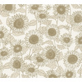 AS Création Vliestapete New Life Blumentapete beige weiß 376851 10,05 m x 0,53 m
