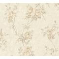 AS Création Vliestapete Romantico Tapete romantisch floral creme beige braun 372263 10,05 m x 0,53 m