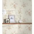 AS Création Vliestapete Romantico Tapete romantisch floral creme rot grau 372314 10,05 m x 0,53 m
