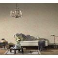 AS Création Vliestapete Romantico Tapete romantisch floral rosa creme metallic 372241 10,05 m x 0,53 m
