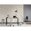 AS Création Vliestapete Scandinavian 2 Tapete geometrisch grafisch beige braun grau 10,05 m x 0,53 m