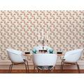 AS Création Vliestapete Scandinavian 2 Tapete geometrisch grafisch beige braun rot 10,05 m x 0,53 m