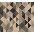AS Création Vliestapete Scandinavian 2 Tapete geometrisch schwarz metallic braun 367864 10,05 m x 0,53 m