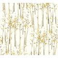 AS Création Vliestapete Scandinavian 2 Tapete mit Baum Muster gelb grau weiß 957862 10,05 m x 0,53 m