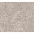 AS Création Vliestapete Sumatra Tapete mit Palmenblättern beige creme braun 373712
