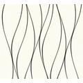 AS Création Vliestapete Trendwall Tapete gestreift rosa schwarz weiß 371317 10,05 m x 0,53 m