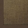 Astra Sisalteppich Manaus mit ASTRAcare (Fleckenschutz) 200 x 200 cm dunkelbraun Farbe 64
