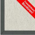 Astra Schurwollteppich Baltimore Col. 01 beige Wunschmaß Baumwoll Bordüre ohne Fleckenschutz