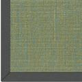 Astra Sisalteppich Salvador Col. 36 blau-grün mit Astracare Wunschmaß