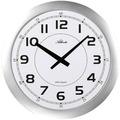Atlanta 4433 Wanduhr modern extraflache Uhr geräuschlose Uhr XXL-Uhr