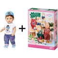 BABY born Adventskalender 2019 + Soft Touch Brother 43 cm