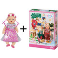 BABY born Adventskalender 2019 + Soft Touch Dirndl Edition 43 cm
