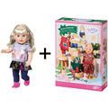 BABY born Adventskalender 2019 + Soft Touch Sister blond 43 cm