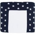 Baby's Only Wickelauflagenbezug 75x85 cm Star marine/weiß