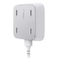Belkin Family Rockstar, 4-Port USB Universal Ladegerät, Weiß
