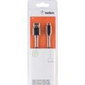Belkin USB 2.0 Micro-USB auf USB-A Kabel, 0.9m, schwarz