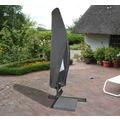 BEO acamp Schutzhülle für Alu-Ampelschirm bis 300cm wasserabweisend, mit Ösen und Reißverschluss, verpackt in Tragetasche mit Einleger anthrazit