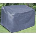 BEO Schutzhülle für Gartenbank 3er Maße: 160x75cm, Höhe 78cm, starkes Polyestergewebe anthrazit