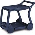 Best Servierwagen Galileo blau Barwagen