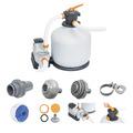 Bestway Flowclear™ Sandfilteranlage mit Zeitschaltuhr 11,355 l/h (58486)