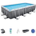 Bestway Power Steel™ Frame Pool Komplett-Set,  549 x 274 x 122 cm (56998)